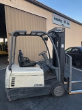 Rental store for 4,000 LB. Sit Down Electric Forklift in Los Angeles CA