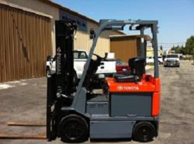 Where to find 5000 LB Sit Down Electric Forklift in Los Angeles